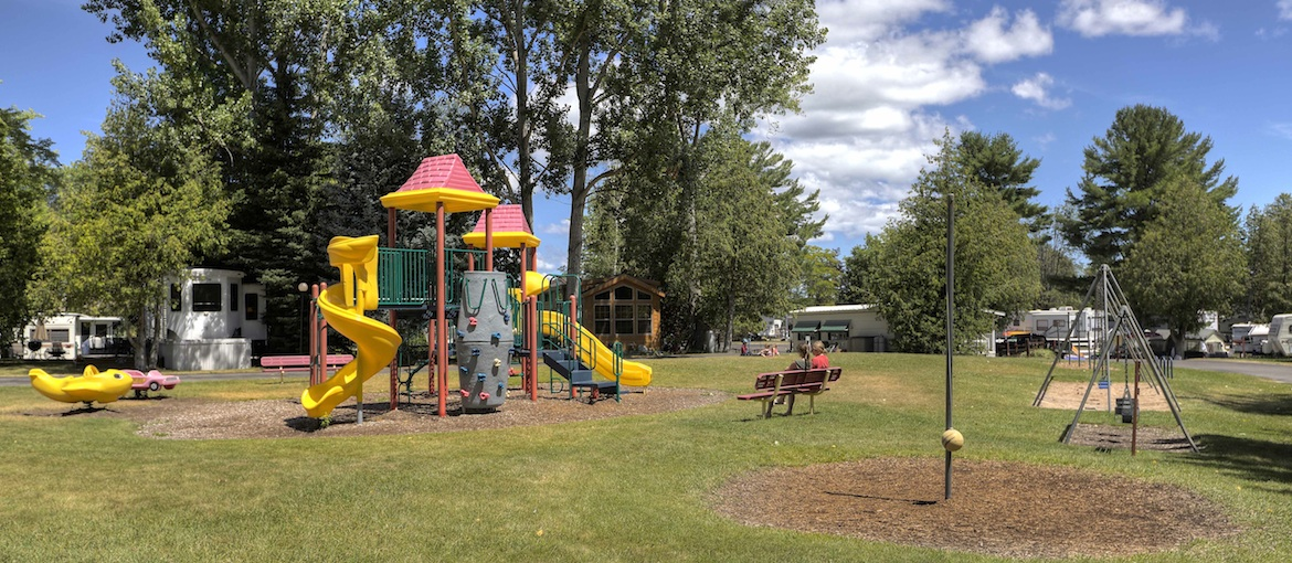 lake leelanau rv park playground