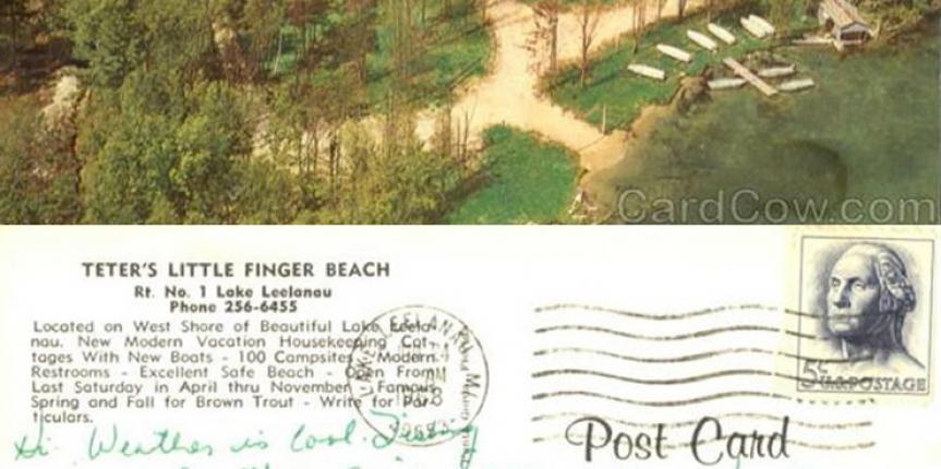 Teters Little Finger Beach